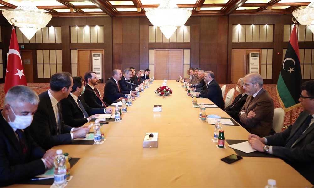 Türk heyeti Libya'dan döndü: İş birliğini her alanda geliştireceğiz
