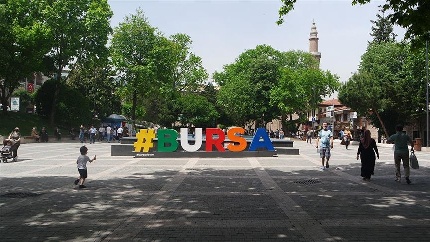 Bursa'da maske takma zorunluluğu getirildi