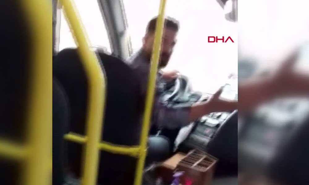 Maskesiz şoför vatandaşa hakaret etti, minibüsten indirdi