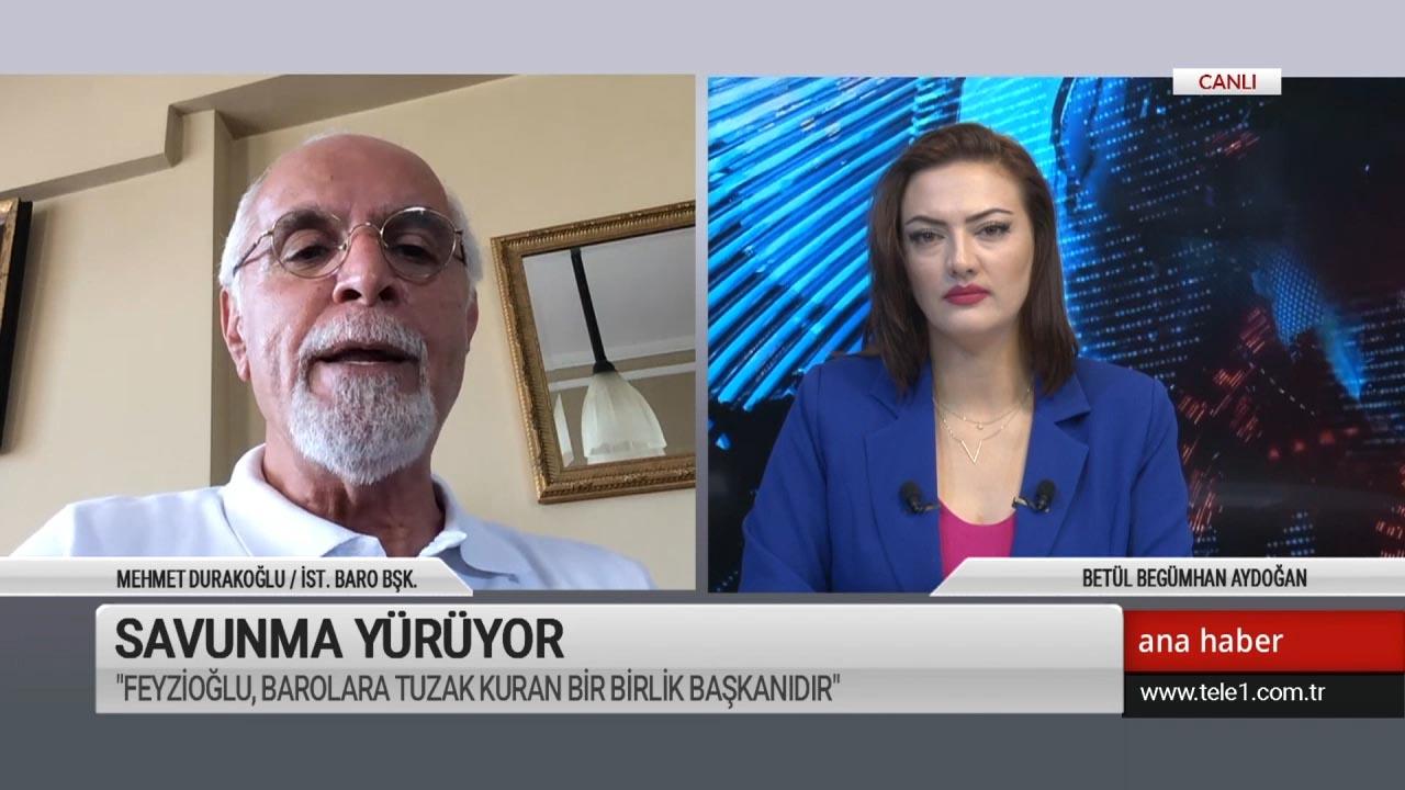 İstanbul Barosu Başkanı Durakoğlu: Feyzioğlu kariyerinin peşinde, avukatların karşısında