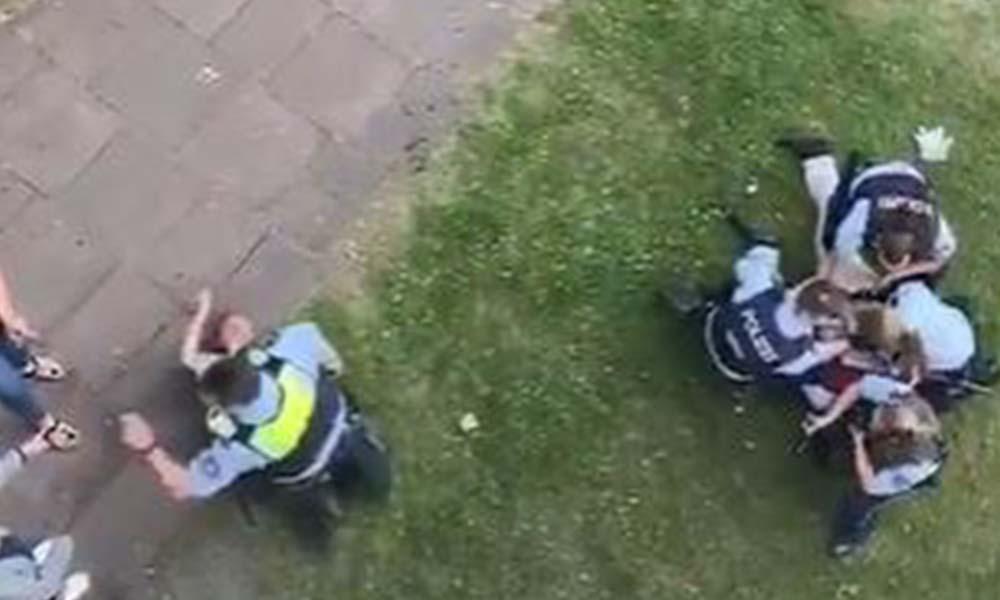 Almanya Herne'de Tunceli'li aileye polisten orantısız güç kullanımı