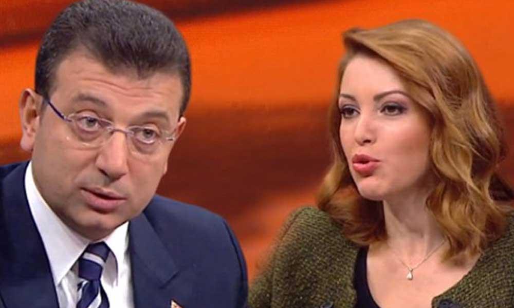 Nagehan Alçı'dan şaşırtan Ekrem İmamoğlu açıklaması