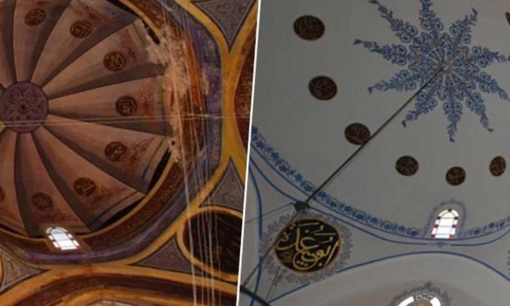 '514 yıllık camiye badana yapıldı' iddiasına açıklama: Vatandaş eski halini bilmiyor…