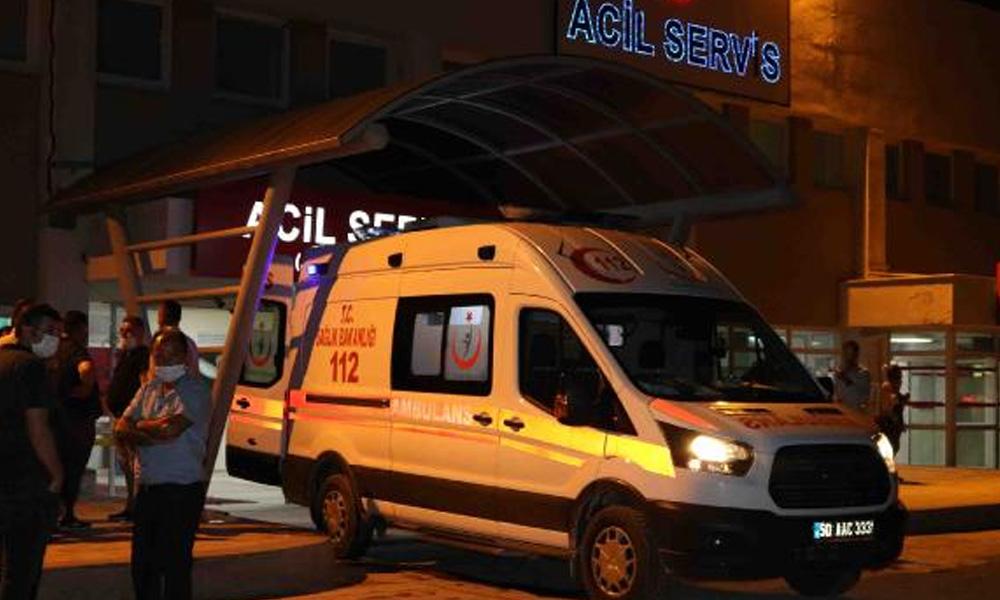 Nevşehir'de işçi servisi kaza yaptı: 9 yaralı