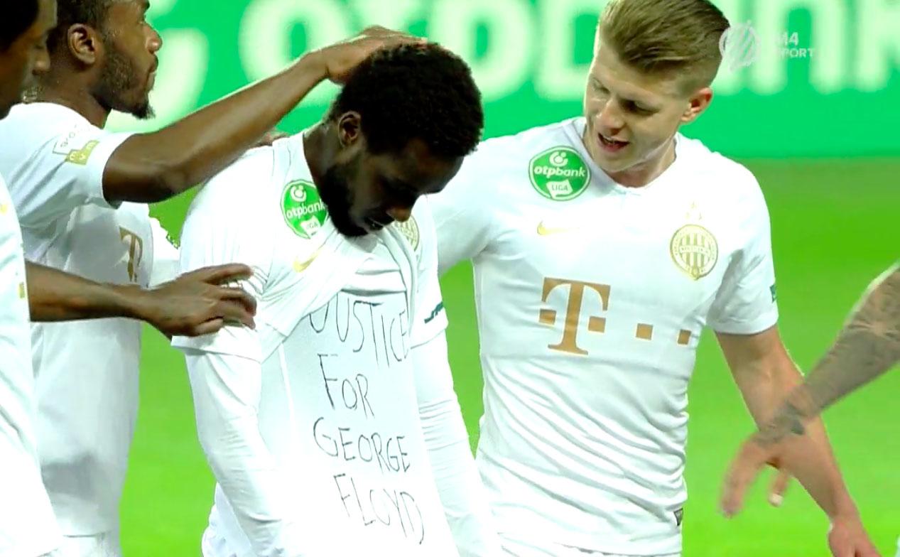Macaristan'dan 'George Floyd'u' anan futbolcuya ceza