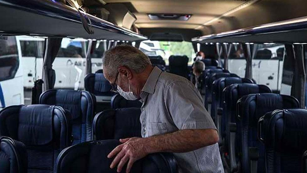 Şehirlerarası otobüslerde uygulanan yüzde 50 kısıtlamasına yeni düzenleme
