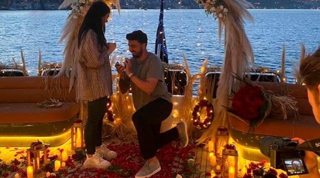 Ozan Tufan'dan romantik evlenme teklifi