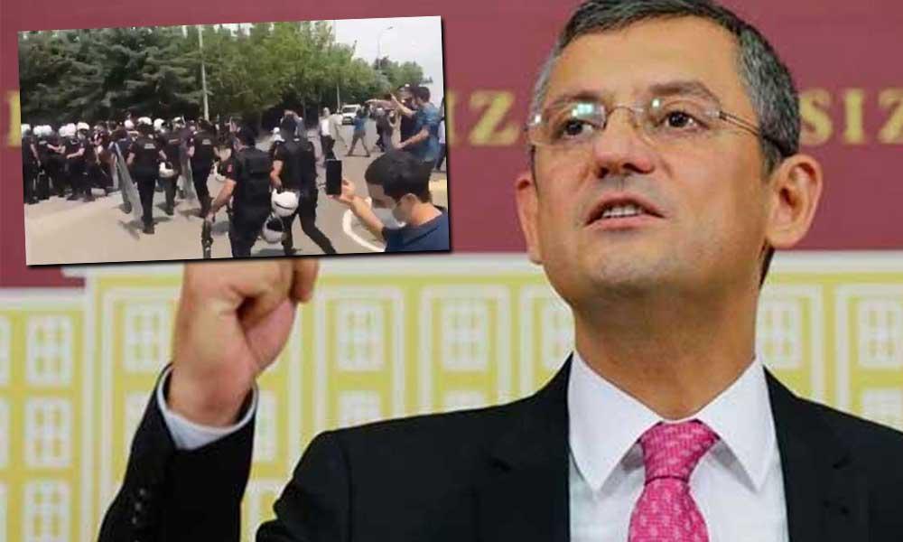 HDP'ye polis müdahalesine CHP'den ilk tepki