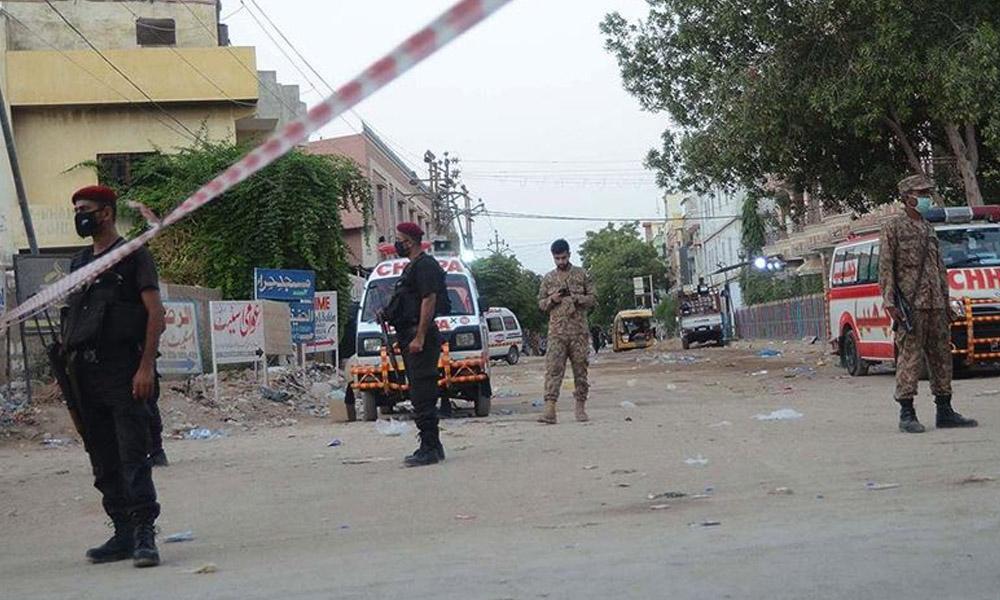 Pakistan'da borsa binasına saldırı: 2 ölü