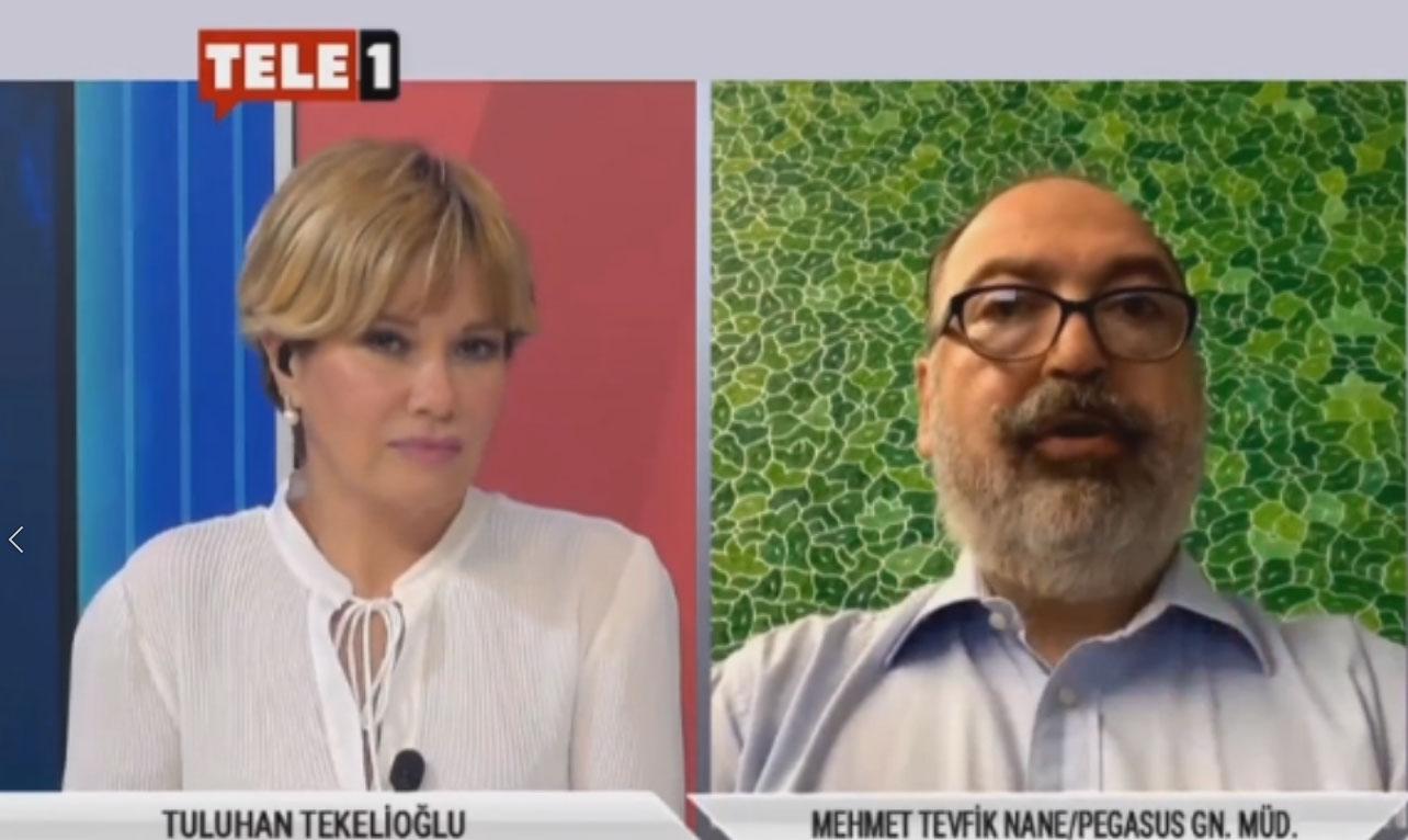 Pegasus Genel Müdürü Mehmet Tevik Nane uçaklarda alınacak önlemleri anlattı