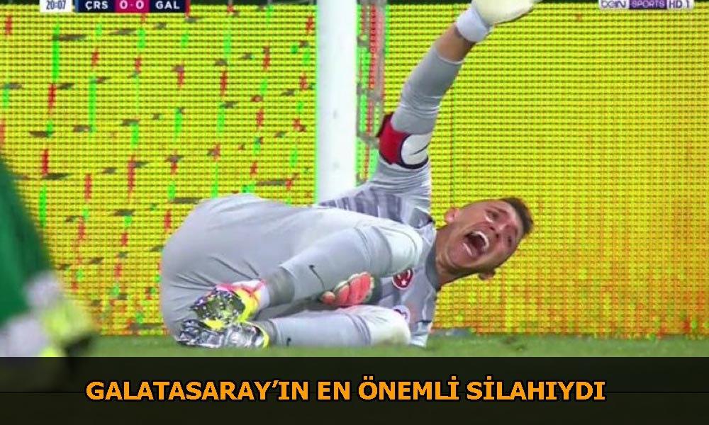 Galatasaray'da sakatlık şoku! Muslera'da iki kırık tespit edildi