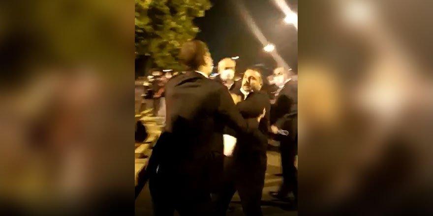 Eylem yapmak isteyen 15 Temmuz gazilerine polis müdahalesi