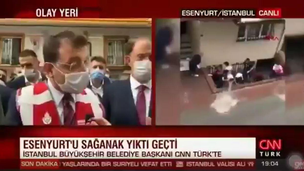 İmamoğlu'ndan yandaş CNN Türk'e ders gibi yanıt