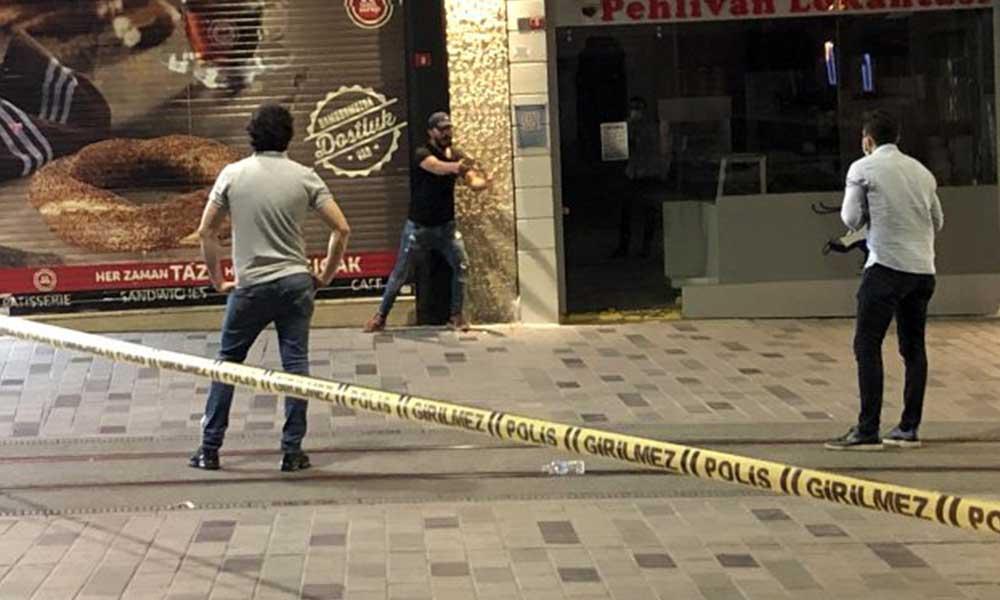 İstiklal Caddesi'nde bıçaklı saldırgan paniği! Cadde giriş-çıkışlara kapatıldı