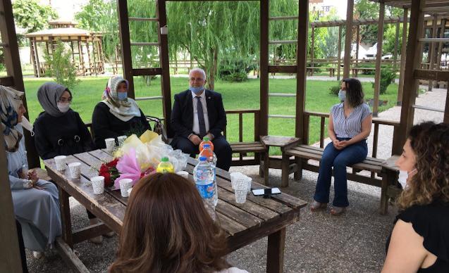 Saadet Partisi'nden Başak Demirtaş'a destek ziyareti