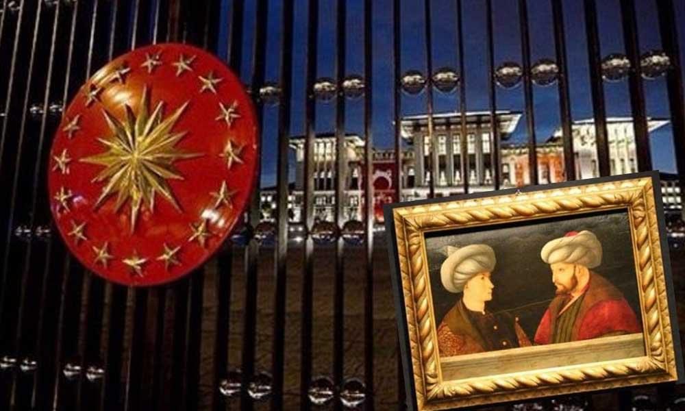 Saray'dan portre atağı