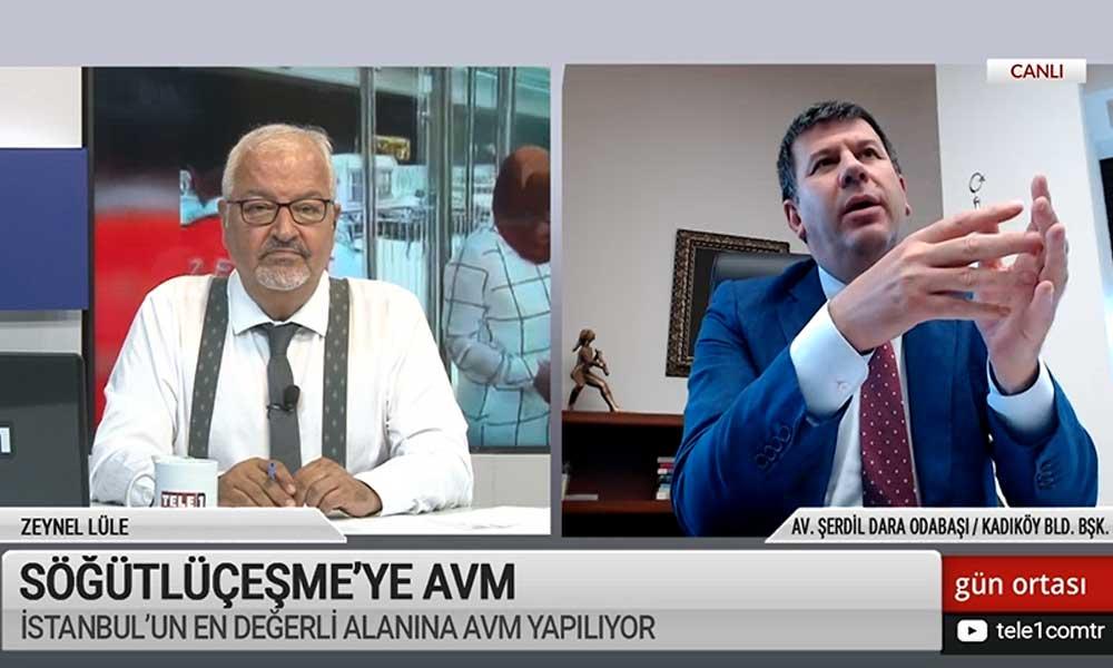 Kadıköy Belediye Başkanı seslendi: O bölgeyi Millet Bahçesi yapmaya hazırız