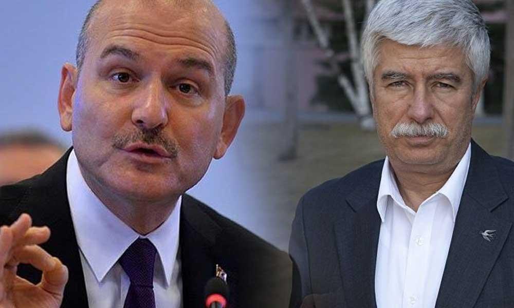Faruk Bildirici'yi arayan Soylu'dan 'gazeteciye hakaret' savunması