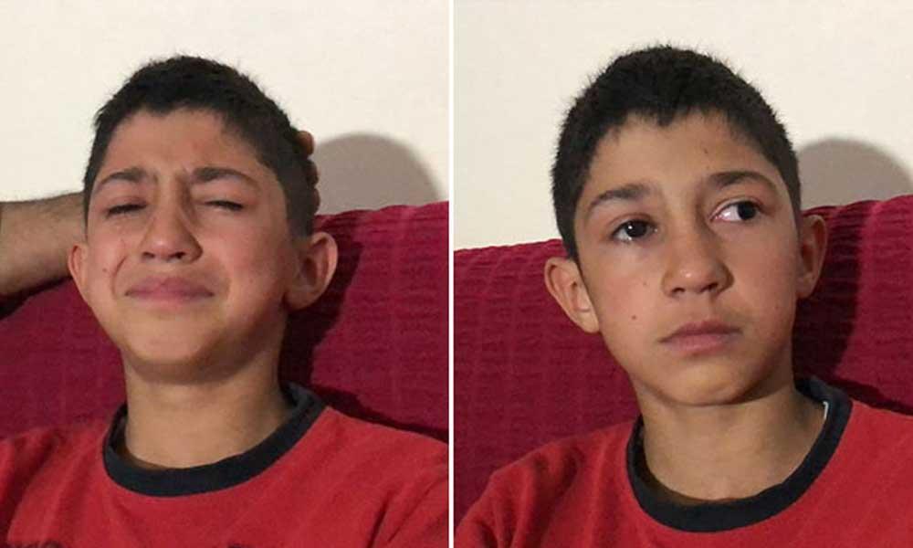 11 yaşındaki çocuk su kavgasında gözünü kaybetti