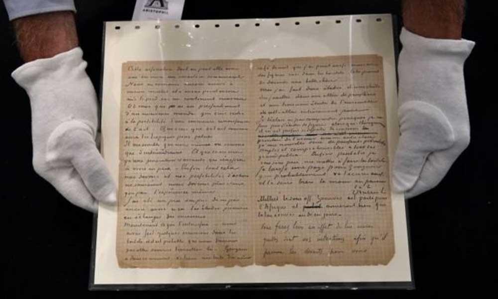 Van Gogh'un meslektaşı Gauguin ile genelev ziyaretlerini anlattığı mektup 210 bin euroya satıldı