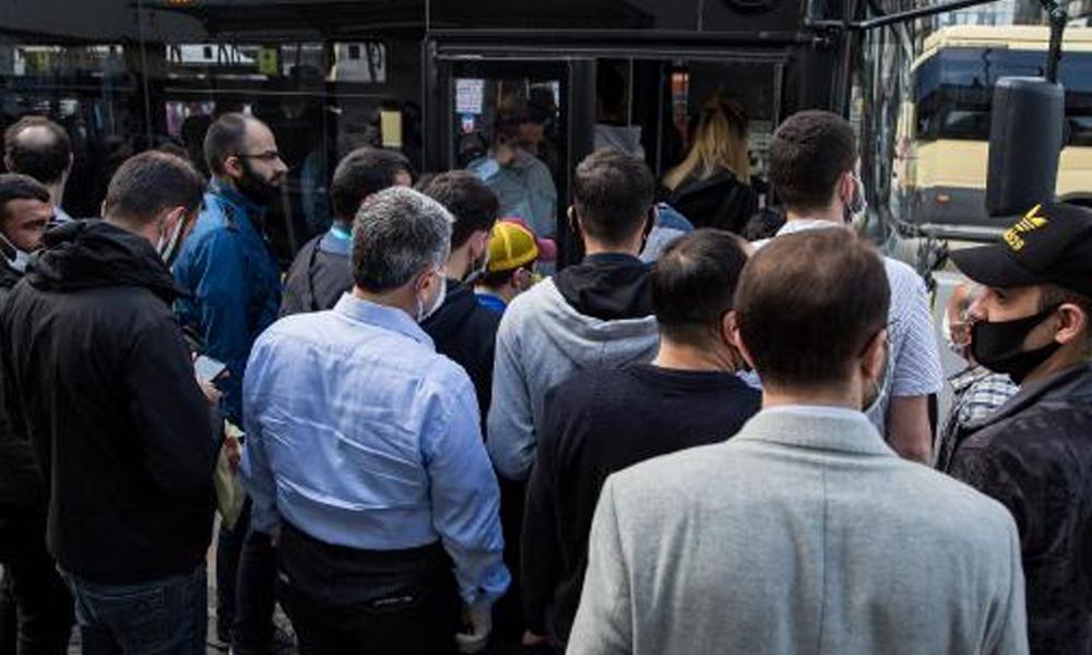 Yeni düzenlemenin ilk günü: Toplu taşımada korkutan tablo