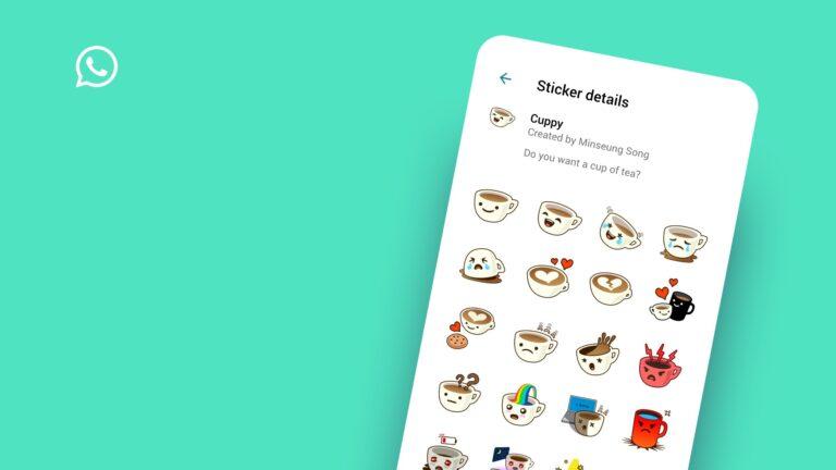 WhatsApp hareketli sticker özelliği ile geliyor