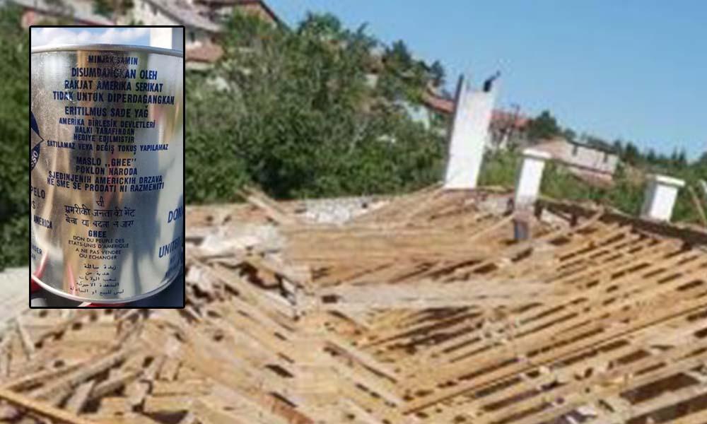 ABD'nin 2. Dünya Savaşı sonrası Türkiye'ye gönderdiği margarinler, bir okulun çatı katından çıktı