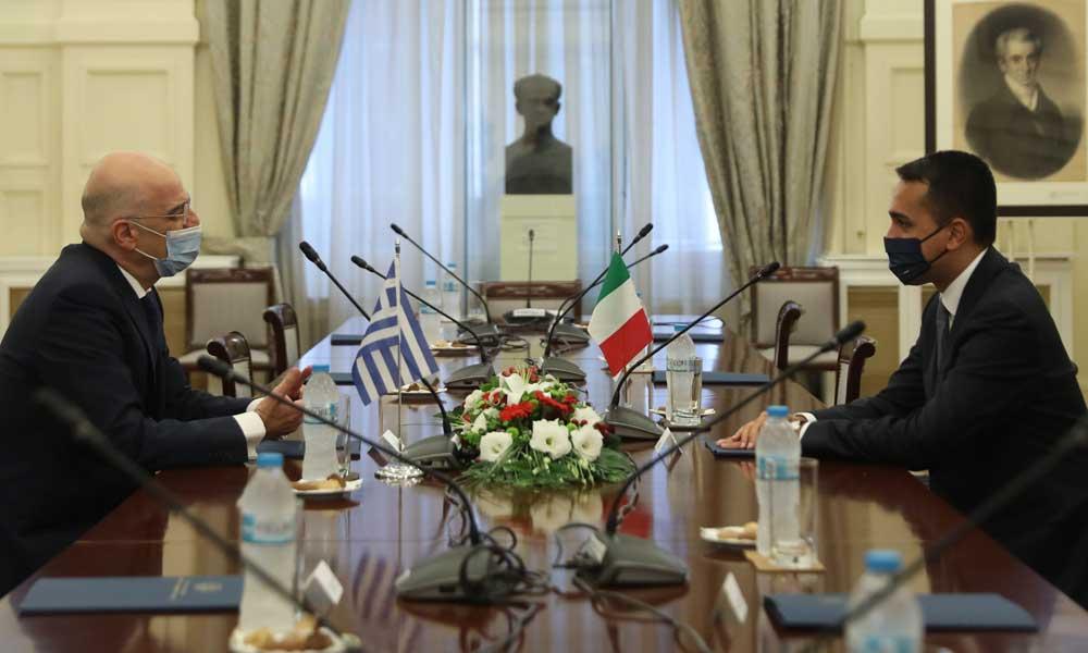 Akdeniz'de kritik adım! Yunanistan ve İtalya MEB anlaşması imzaladı
