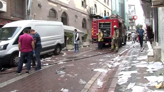Zeytinburnu'nda lokantada patlama: 1 yaralı