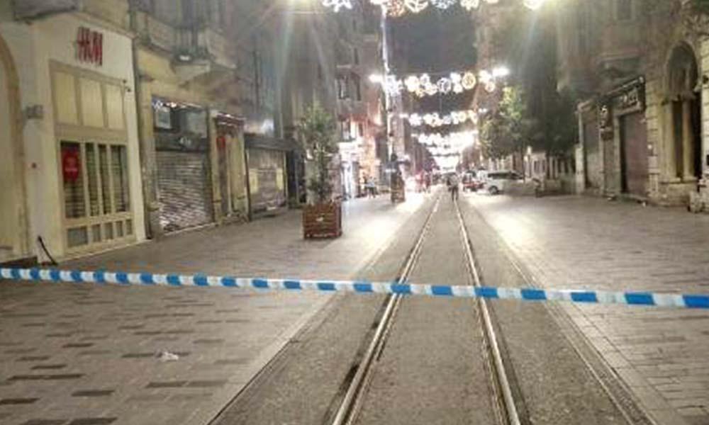 İstiklal Caddesi'nde bomba alarmı!