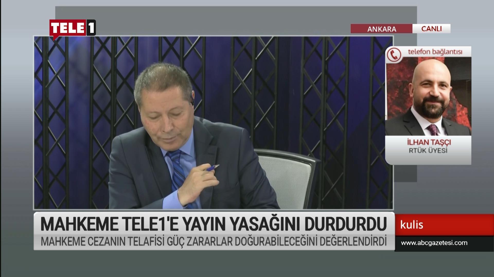 Mahkeme Tele1'e yayın yasağını durdurdu