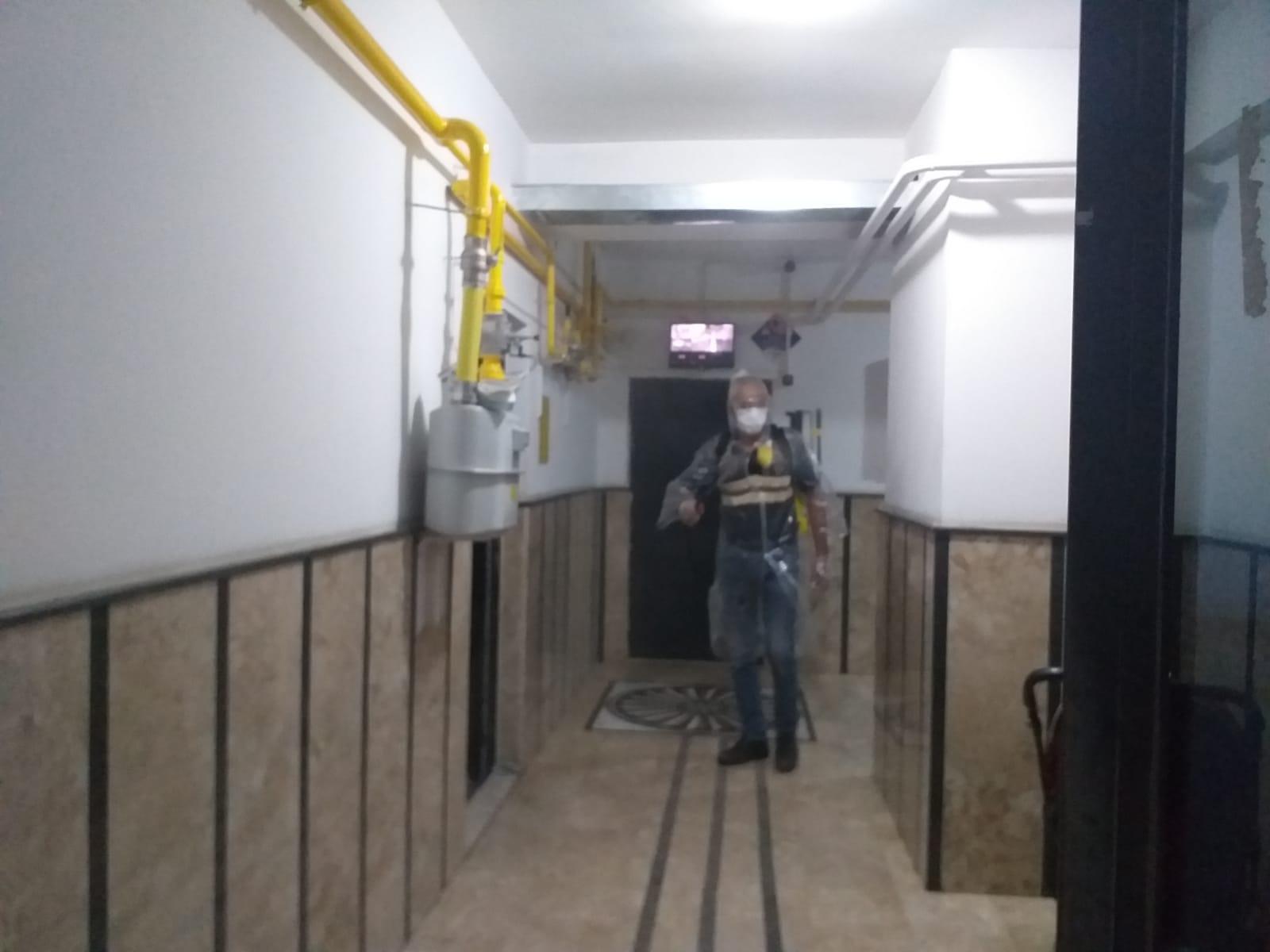 Konya Seydişehir'de 1 apartman, karantinaya alındı