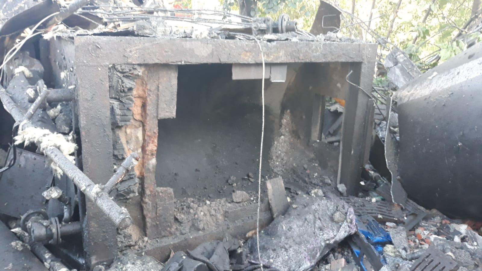 Salyangoz fabrikasındabuhar kazanıpatladı:1 ölü