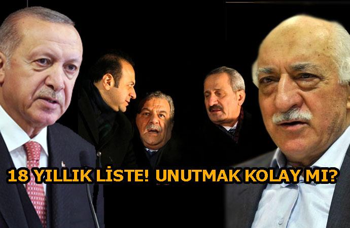 AKP'de kim neyi unutmak istiyor