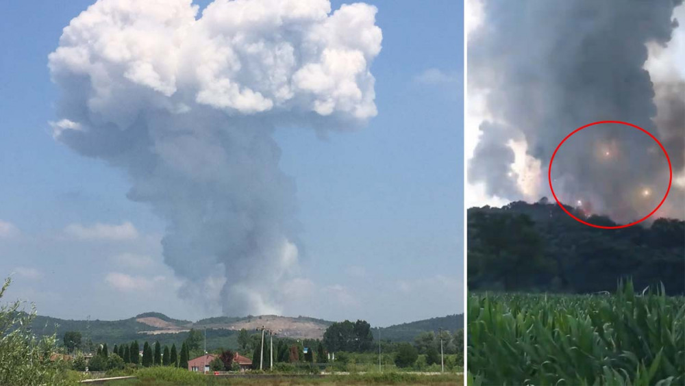 Havai fişek fabrikasındaki patlamada flaş gelişme