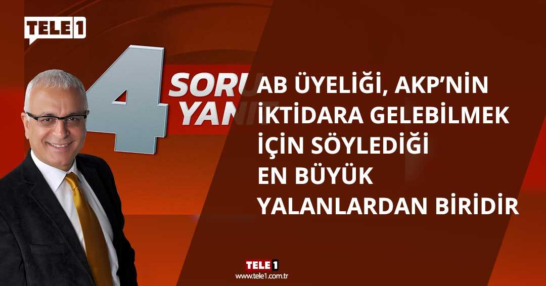 Merdan Yanardağ: Türkiye dinci ve ırkçı bir rejime sürükleniyor