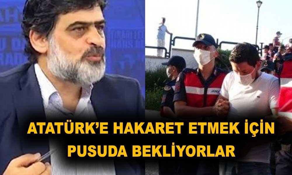 Akit yazarı katili değil Atatürk'ü suçladı