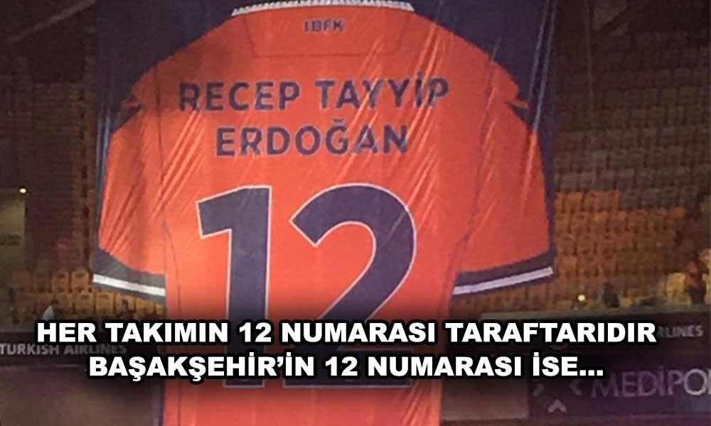 Başakşehir'in 12 numarası emekli edildi