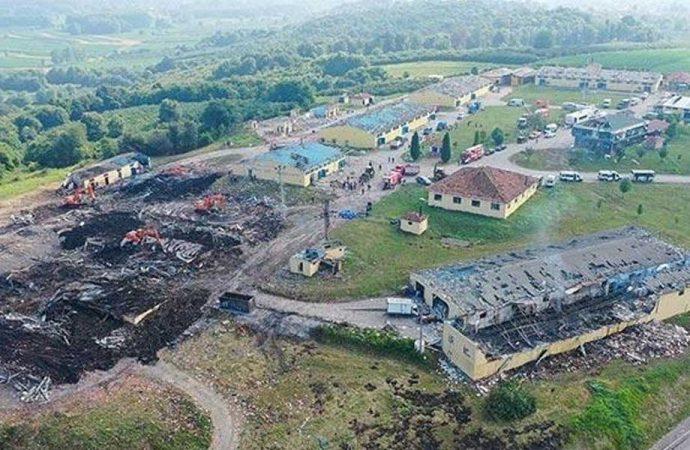 Havai fişek fabrikası patlamasında gelişme