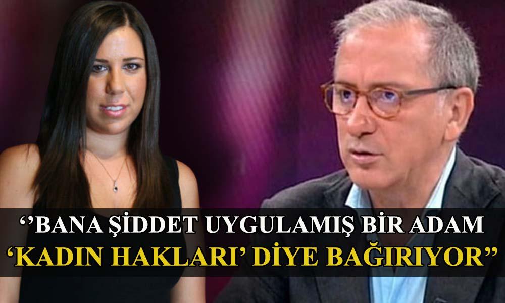 Serap Çil isim vermedi, Ahmet Hakan RT'ledi