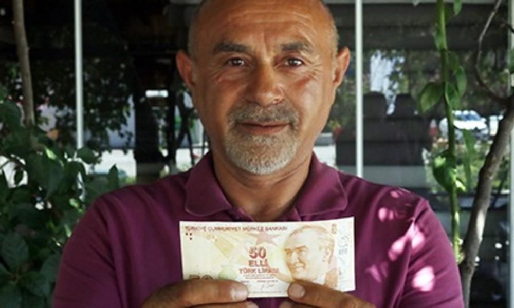 Hatalı basılmış 50 liraya 75 bin lira teklif edildi