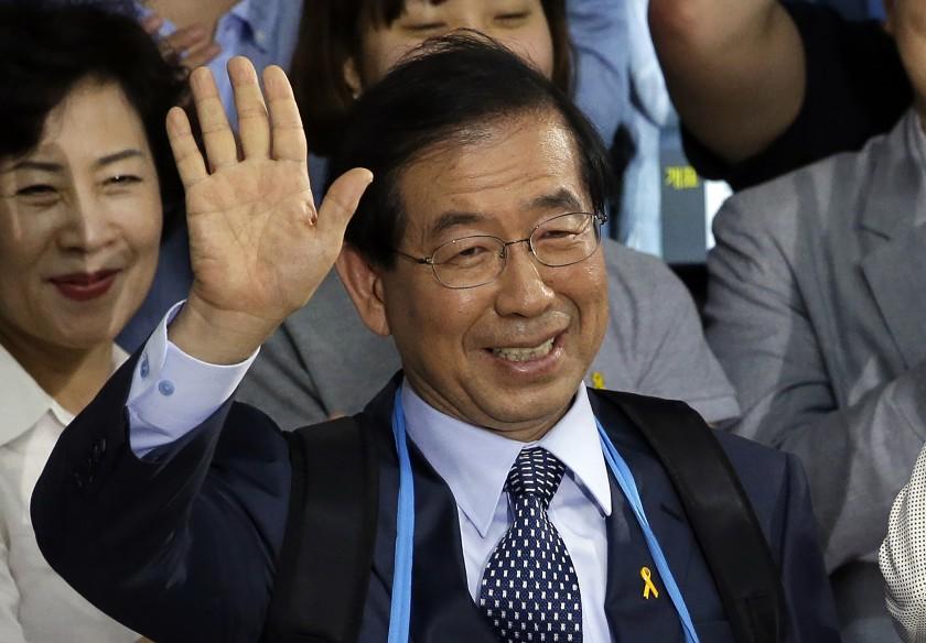 İktidarın muhtemel başkan adaylarındandı! Kayıp Seul Belediye Başkanı ölü bulundu