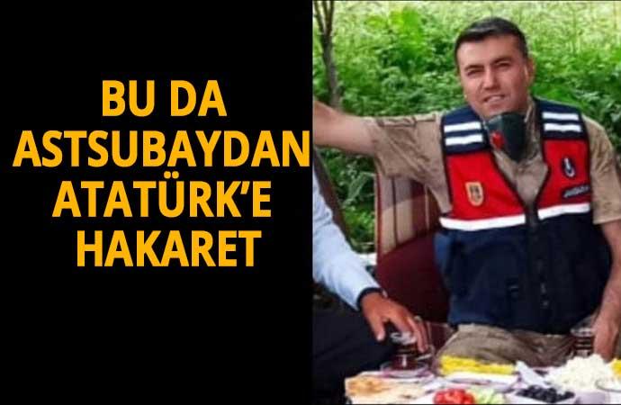 Astsubay'dan Atatürk'e hakaret