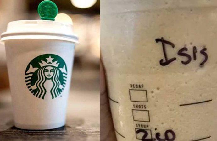 Starbucks'ta kahve bardağına 'IŞİD' yazılan kadın dava açtı