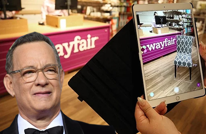 Wayfair'de çocuk kaçakçılığı yapıldığı iddiasına tanınmış Aktör Tom Hanks'in de ismi karıştı