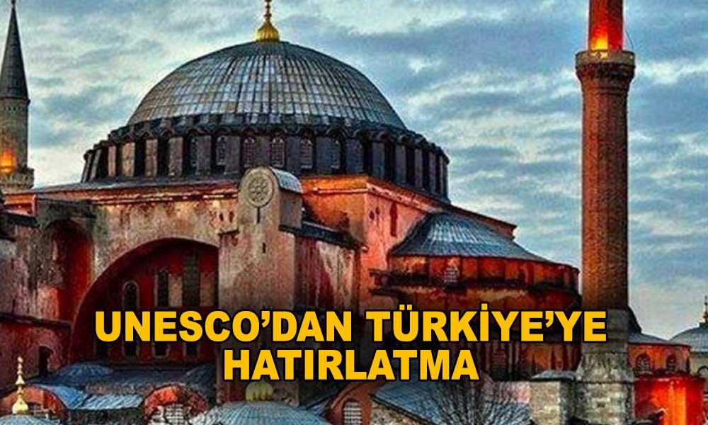 Ayasofya'da karar günü… Tartışmaya UNESCO dahil oldu