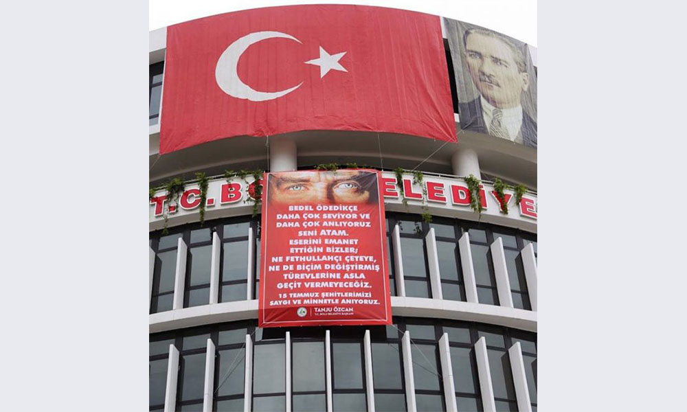 CHP'li başkandan Atatürk'lü 15 Temmuz mesajı