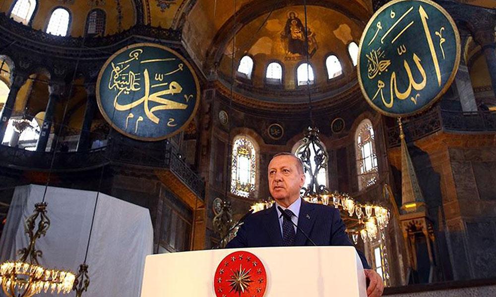 AKP'de 'Ayasofya'da namaz' tartışması: Gelenin başımız üstünde yeri var