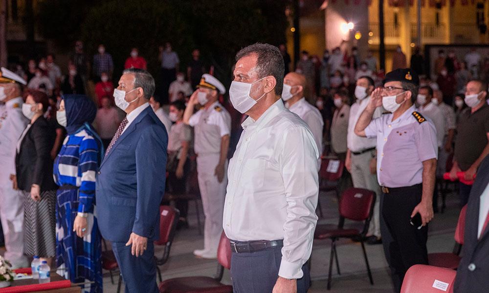 Başkan Seçer, Demokrasi ve Milli Birlik Günü törenlerine katıldı
