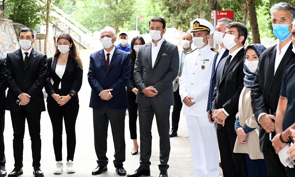 Beşiktaş'ta 15 Temmuz Şehitleri dualarla anıldı